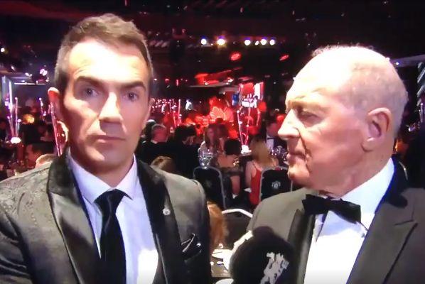 MUTV speak to Geoffrey Boycott at Man Utd's Player of the Year do