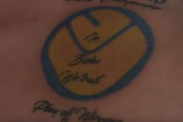 "This fan's ""Leeds United 2019 Championship Playoff Winners"" tattoo was somewhat premature"