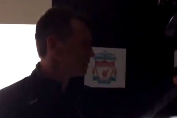 Liverpool fans prank their Man Utd-supporting housemate by placing images of their team all around the home