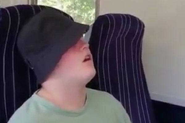 Sleeping Blackburn fan nearly missed his stop on the train back from a pre-season friendly in Barrow