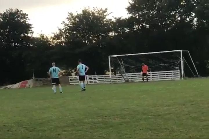 Referee uses harmonica instead of whistle in friendly at Tiptree Engaine