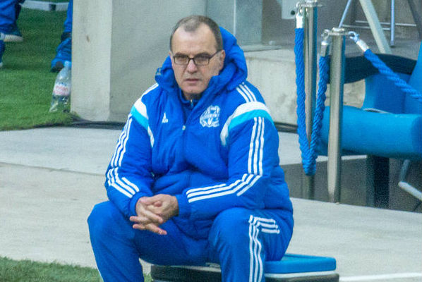 Leeds United manager Marcelo Bielsa was spotted shopping in Morrisons