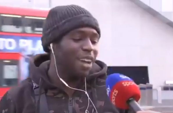 "Fan welcomes José Mourinho to Spurs with ""energy"" in bizarre Sky Sports News vox pop"