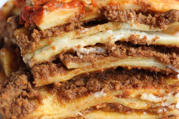 A WhatsApp voice message claims the government are baking a lasagne in Wembley Stadium to feed the public during the coronavirus lockdown