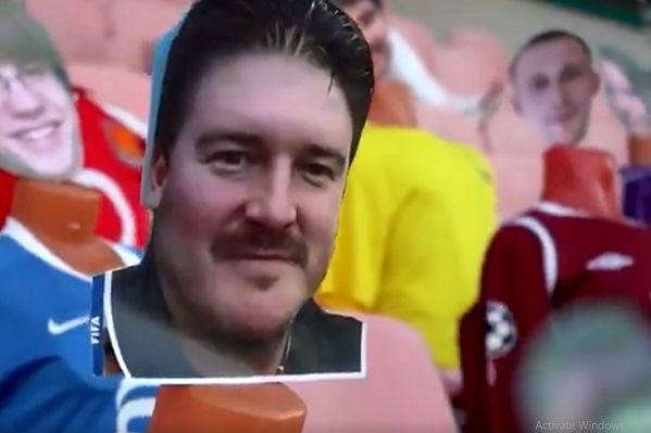 Virtual fans at Dynamo Brest as football continues in Belarus