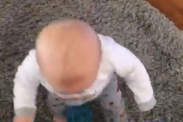 Twitter user Benny Lee Hardie nutmegged his baby