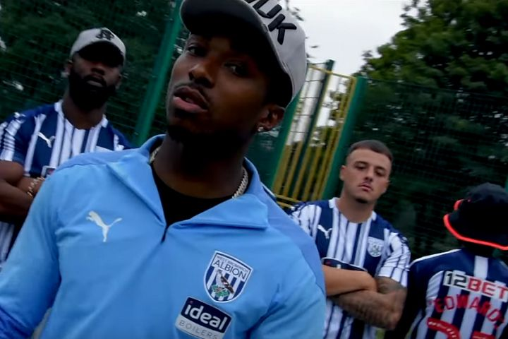 West Brom's Kyle Edwards releases song to celebrate promotion to Premier League in Edwardo - Promotion Ting