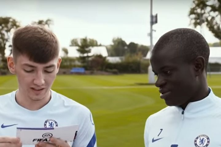 N'Golo Kanté can't understand Chelsea teammate Billy Gilmour's Scottish accent