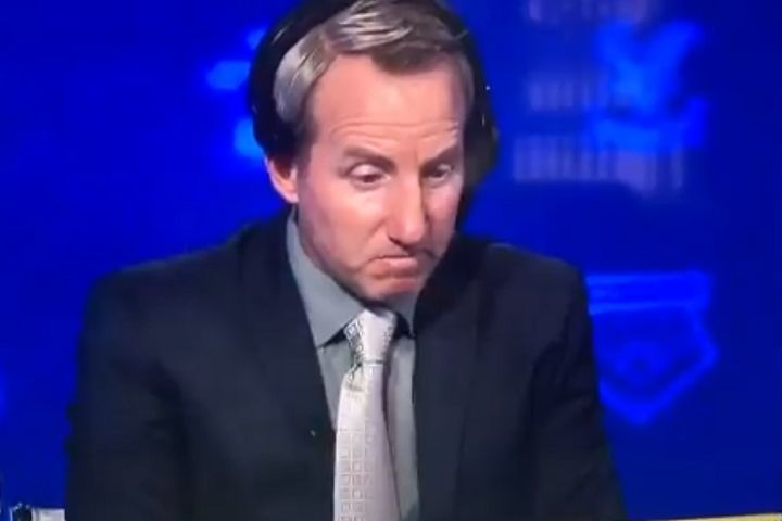 Charlton manager Lee Bowyer watching Sunderland vs MK Dons on Soccer Saturday