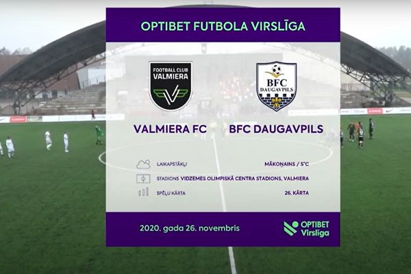 BFC Daugavpils take on Valmieras in the Latvian Higher League with just eight players due to coronavirus outbreak