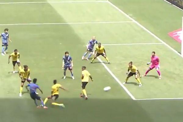 Takefusa Kubo scored quadruple nutmeg goal for Japan Under-24 in 4-0 win over Jamaica