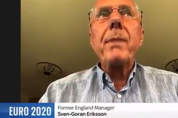 Sven-Göran Eriksson's Sky News interview interrupted by former Lib Dems MP Lembit Öpik